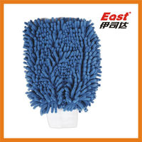 China BSCI chenille glove wash mitt for car cleaning