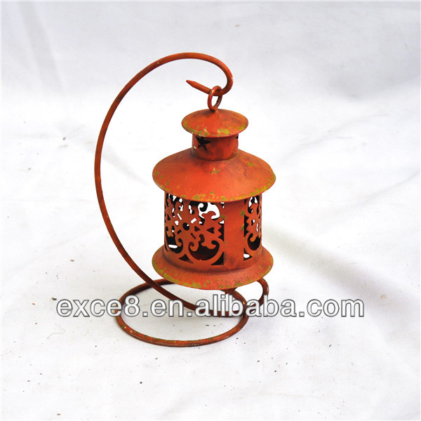 Vintage home decorative iron mini lantern