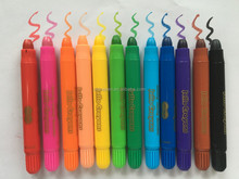 Cool novelty gifts for kids hot multi-color crayon pen set