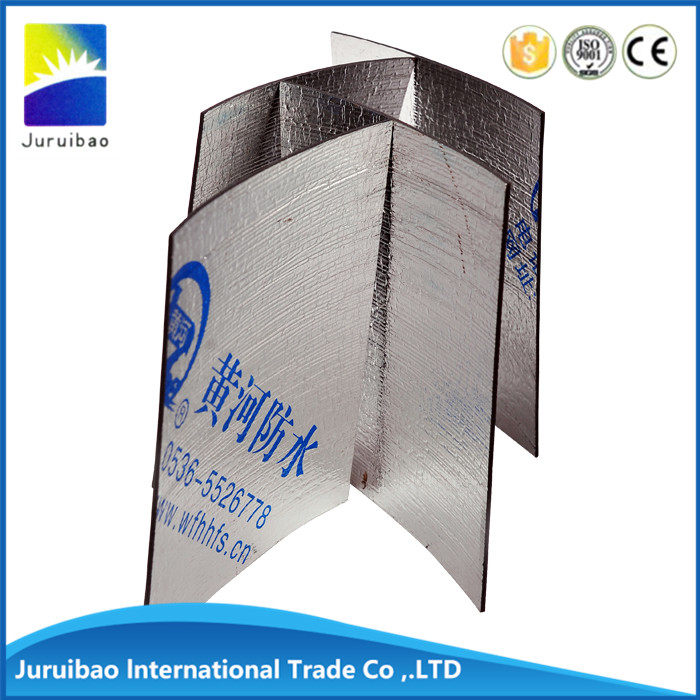 Self adhesive waterproof membrane for construction materials