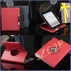 For iPad Case New 360 Degree Rotating Wallet Flip Rotatable Leather Stand Case for iPad Pro Air 2 3 4 Mini4