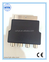 High quality SCART adapter W/switch