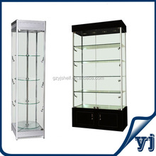 Names Wood Exhibition Jewellery Shop Tempered Glass Display Showcase/Kiosk Display Showcase