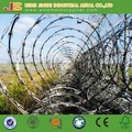 Hot dipped galvanized Cross type Razor barbed wire