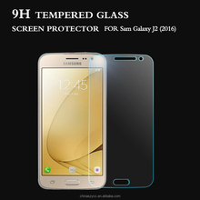 For Sam J2 2016 Tempered Glass Screen Protector Anti-shock anti-explosion anti-fingerprint Glass Screen Film Guard