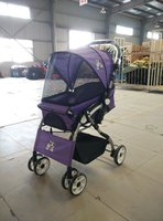 Pet travel stroller pushchair pram cheap doggie strollers