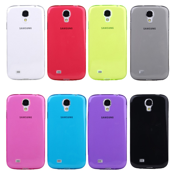 For Samsung Galaxy S4 S IV i9500 Gel Silicone Rubber Soft Hybrid TPU Skin Case