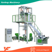 plastic extrusion machinery inflation film manufacturing machine