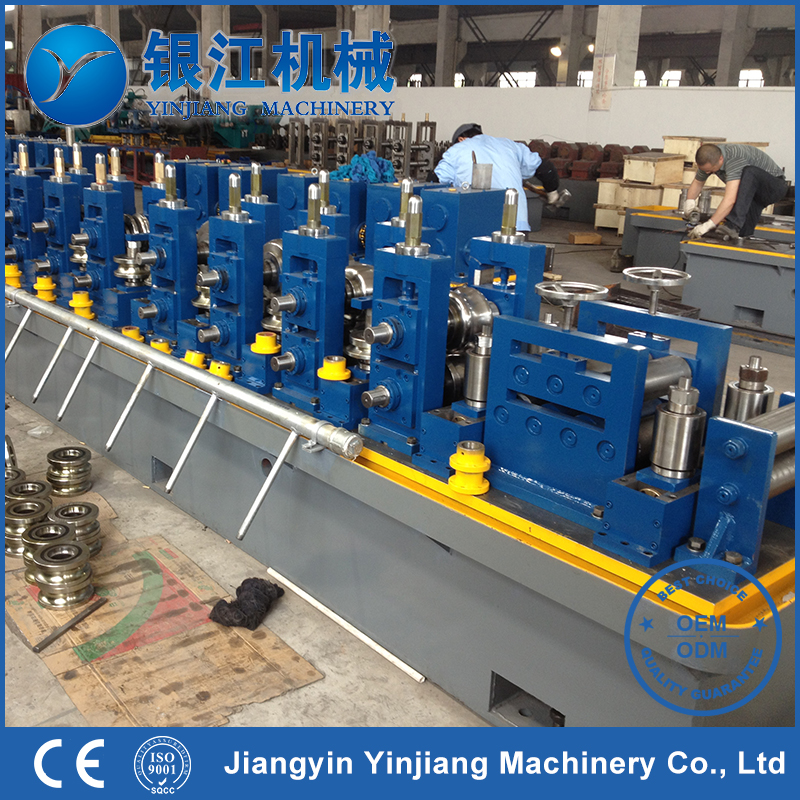 Carbon Steel Pipe Making Machine Steel Profile Making Machine Rectangular Duct Forming Machine