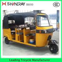 Made in China Bajaj Tricycle/ Tuk Tuk Bajaj India/ Bajaj Three Wheeler Price