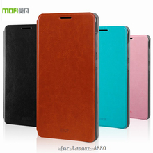 Ultra Thin Tpu Case for Lenovo A880, Flip Leather Phone Case for Lenovo A880