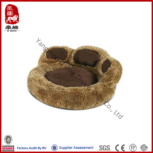 China wholesale pet toy soft comfortable stuffed plush large dog bed