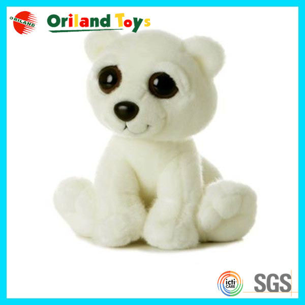 cute style mini plush polar bear