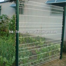 2.5M V-folded Powder Coated Welded Wire Mesh Fence Products