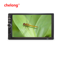 7inch Double DIN MP5 with Touch Screen support parking camera