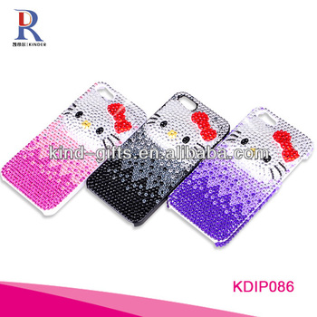 Factory Supply Bling Bling Case For Samsung Galaxy S4 Mini I9190