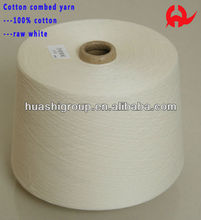 100% combed cotton yarn NE 30S/1 for knitting and weaving
