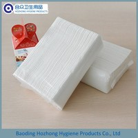Single Layer Z Fold Paper Hand Towels 200 Sheets