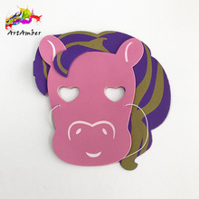 High quality eva animal facial mask of face cosplay drama mask