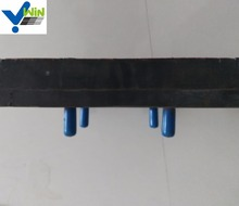 Conveyor composite rubber & ceramic wear panel, pad for mining chute