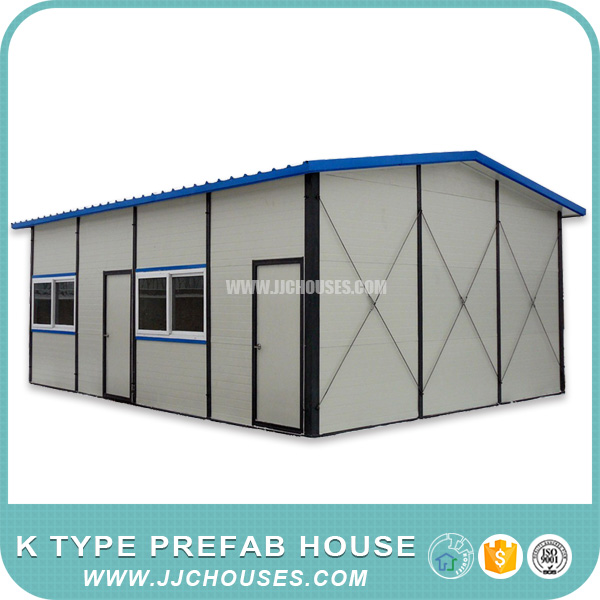 Best price house prefab, working k prefab house, nice design flat roof house designs