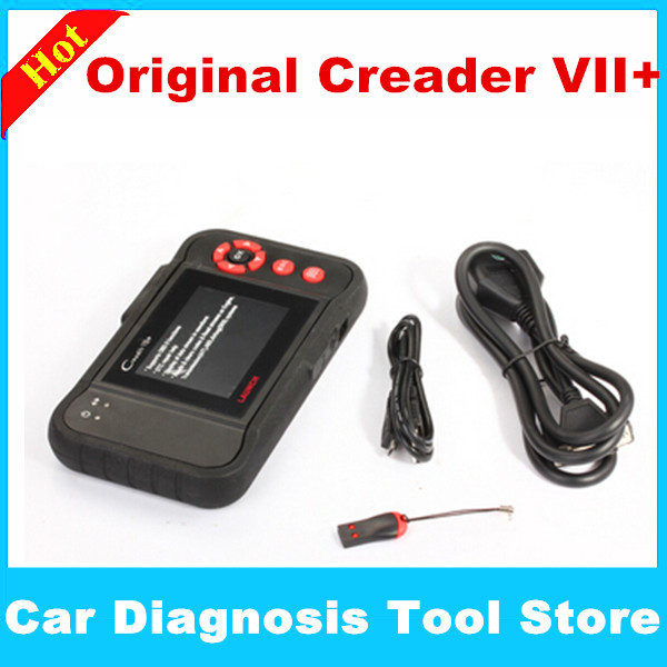 LAUNCH X431 Creader VII+ OBDII Auto Code Scanner Equal to Launch CPR123 Internet Update