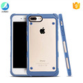 Premium Hybrid Transparent PC Hard Soft Back Cover Case For iPhone 7 Plus