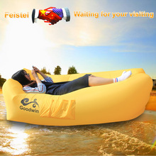 Feistel Inflatable Lounger Air Sofa Bed Inflatable Camping Air Bed Sofa