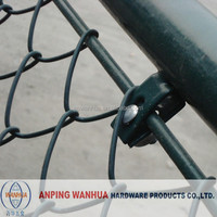 heavy duty plastic coated chain link fence from china ( direct factory )