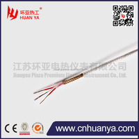 pt100 stainless steel insulated compensation conductor/cable