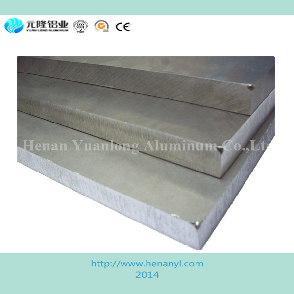 Difference sizes flat alluminium sheet