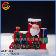 Nice decorative ceramic outdoor christmas train