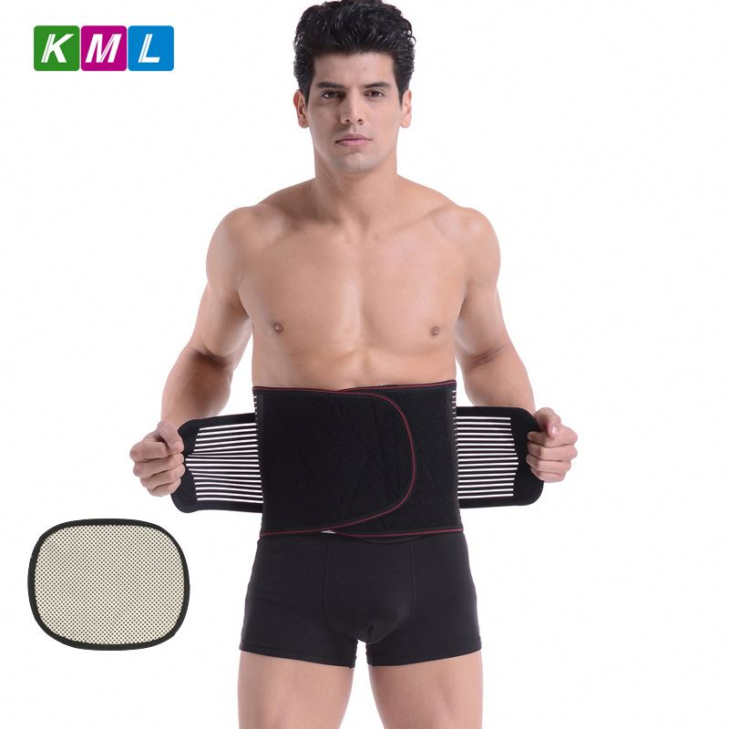Self-heating waist trimmer weight lose fat burning belly belt
