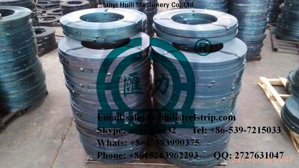 blue oiled cold rolled electric heat and blued nice blue color bluing steel strips packing strapping