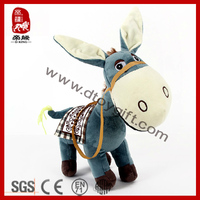 Stuffed Plush Animal Toy Soft Plush Donkey
