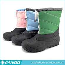 Fashion Women Boots Kids' Rain Boots With Solid Color