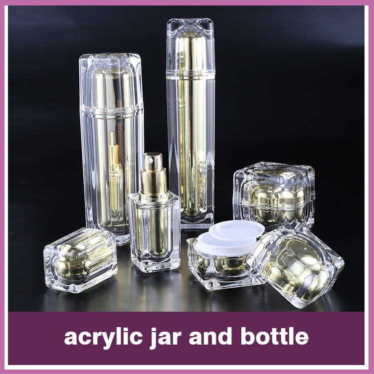 Hot Selling Plastic Imperial crown Shape Cosmetic Jars