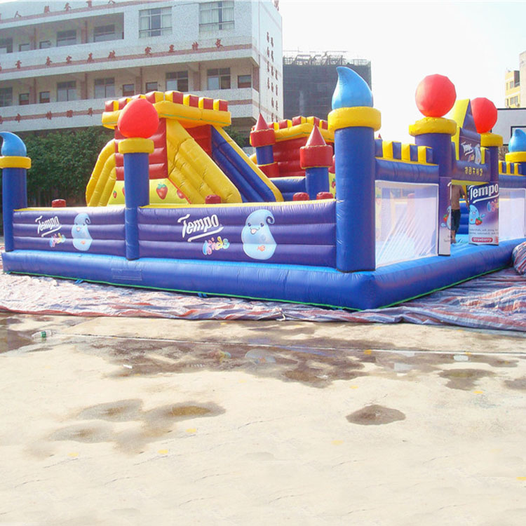 Children theme park indoor playground equipment inflatable bouncy castle equipment