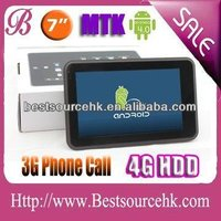 MID Tablet PC with 7 inch 1GHz MTK 6575 Cortex-A9 VOICE call GPS WiFi Google Android 4.0