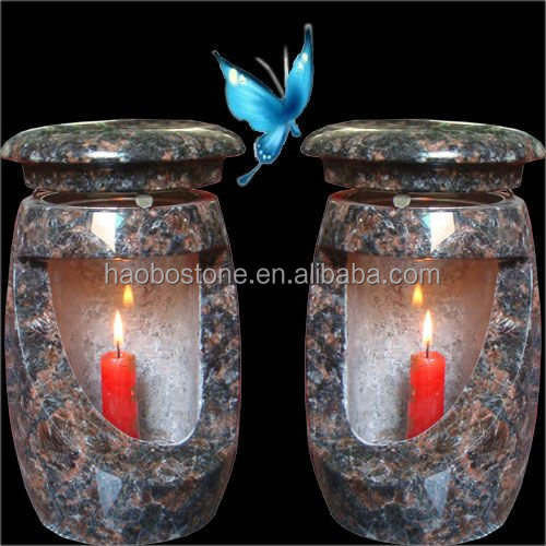 Granite/marble lamps for graves