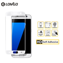Exceptional quality shenzhen mobile phone accessories tempered glass screen saver for samsung galaxy S7 / G9300