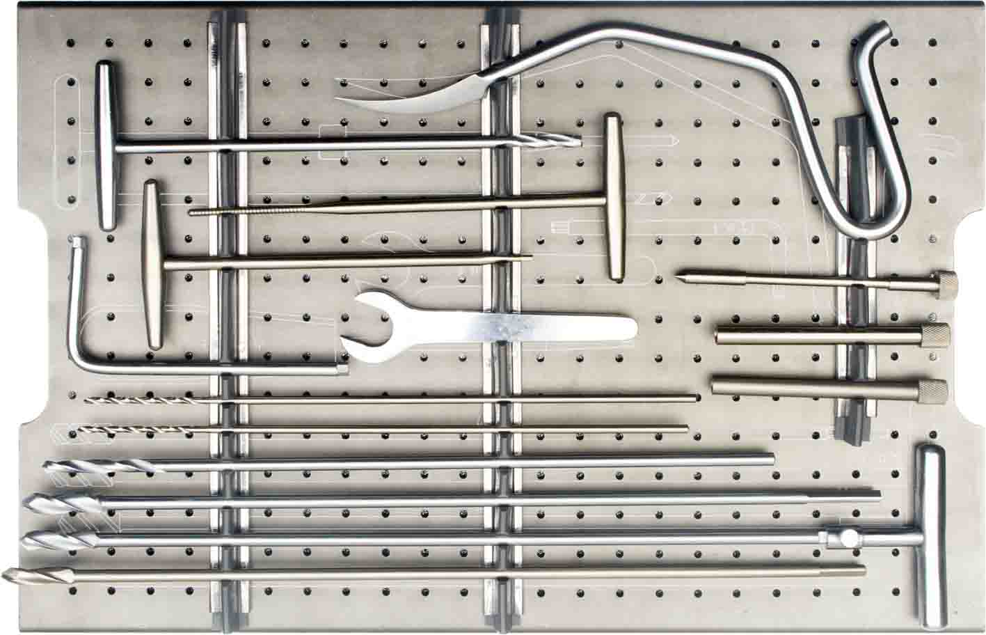 Cannulated Interlocking Nails Instrument