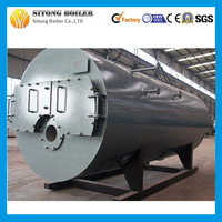 Alibaba China Three Pass 5TON Oil Gas Fired Steam Generator