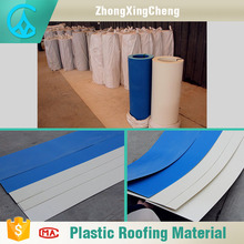 high strength blue / white flat shingle roof tile