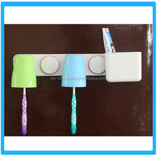 Fashion Double People Suction Cup Toothbrush Holder