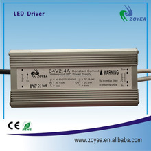 80w 2400ma high effeciency waterproof led power supply safe led driver with CE and RoHs approved
