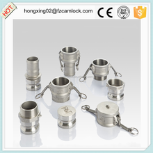 Stainless steel camlock, DN25 quick coupling SS316 cam lock coupling