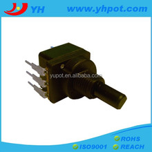 company high quality 17mm switch b500k rotary potentiometer