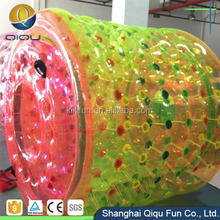 Good quality cheap factory price promotional inflatable fun roller, inflatable roller wheel, water roller for sale