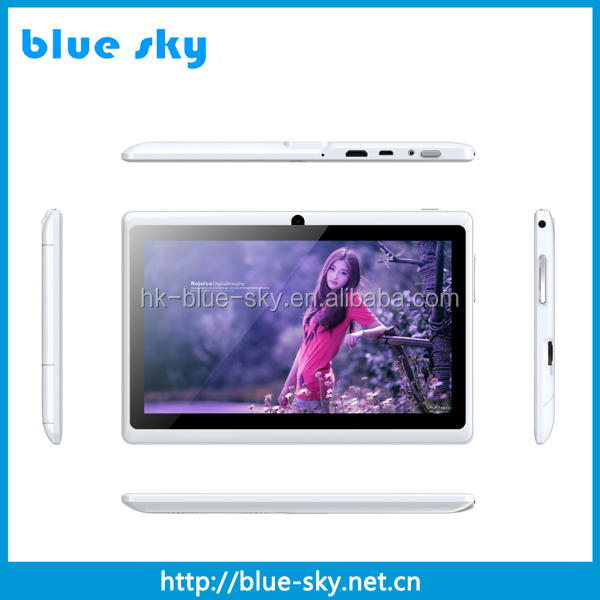 cheap 7 inch 800 x 480 WIFI tablet pc